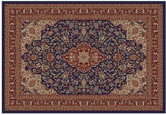 Merinos Heriz Floral Scroll Rug