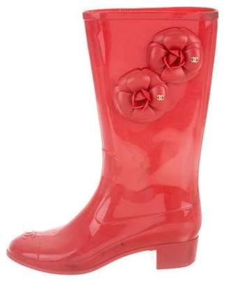 Chanel Camilla Rubber Rain Boots