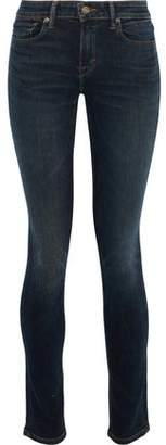 Vince Faded Mid-Rise Skinny Jeans