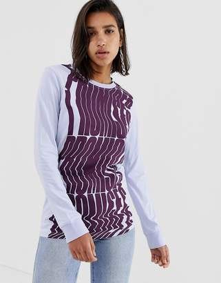 House of Holland Promises long sleeved graphic t-shirt