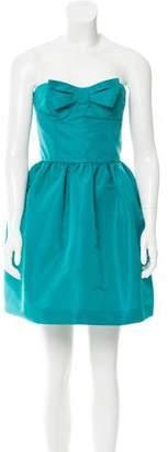 RED Valentino Strapless Mini Dress w/ Tags