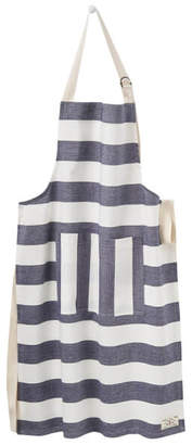 Joules Striped Apron - French Navy Stripe