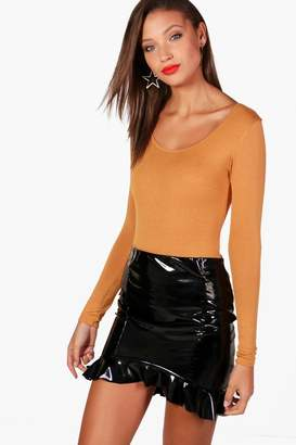 boohoo Tall Long Sleeve Basic Bodysuit