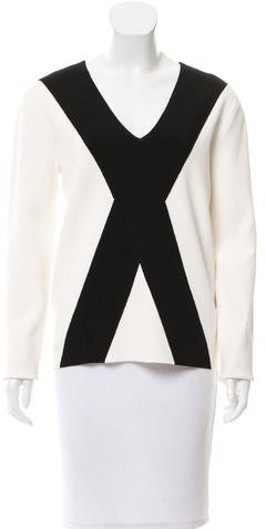 Alexander Wang Alexander Wang Colorblock Long Sleeve Top w/ Tags