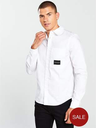 Calvin Klein Jeans Ck Jeans One Pocket Long Sleeve Shirt