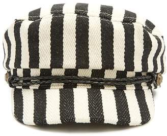 Forever 21 Striped Cabby Hat