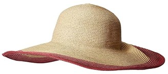 San Diego Hat Company UBL6822 - Ultrabraid Sun Hat with Gathered Back and Knotted Trim