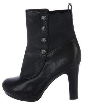 Juicy Couture Leather Ankle Boots