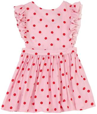 Polka Dot Print Viscose Dress