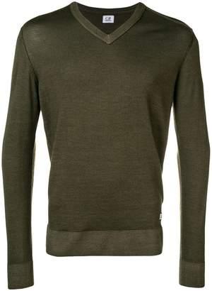 C.P. Company v-neck jumper