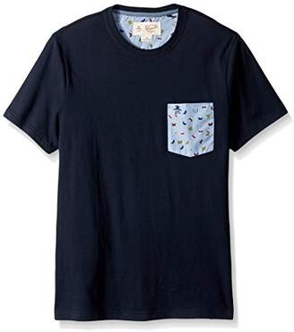 Original Penguin Men's Butterfly Print Pocket Tee