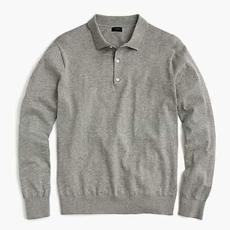 J.Crew Polo sweater in Pima cotton