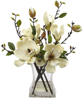 Laurèl Foundry Modern Farmhouse Magnolia Arrangement with Vase