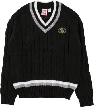 Lacoste Supreme Tennis Sweater - 'SS 17' - Black