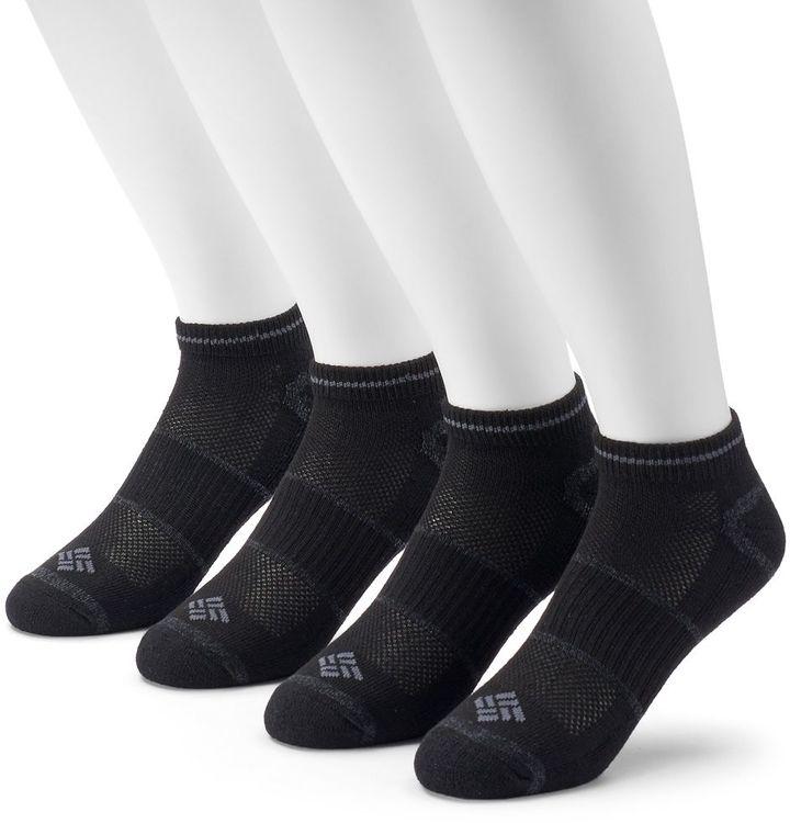 Men's Columbia 4-pack Lightweight Low-Cut Socks