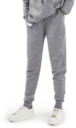 Women's Topshop Luxe Cashmere Jogger Pants $240 thestylecure.com