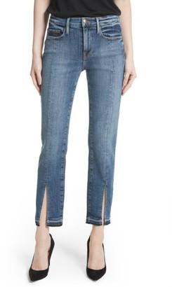 Women's Frame Le Nouveau Split Hem Jeans $269 thestylecure.com