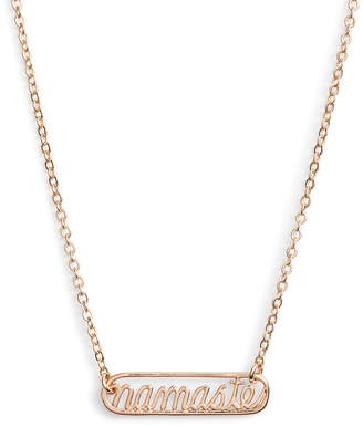 Namaste Ten79LA Plate Necklace