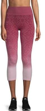 Electric Yoga Ombre Jacquard Capri Leggings