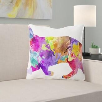 Ebern Designs Burkhardt Dog Throw Pillow Ebern Designs