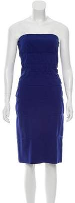 Diane von Furstenberg Strapless Mini Dress