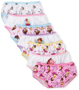 Fancy Nancy (Girls 4-6x) 7-Pack Character Underwear