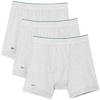Lacoste Supima® Cotton Solid Boxer Briefs - Pack of 3 $39.50 thestylecure.com