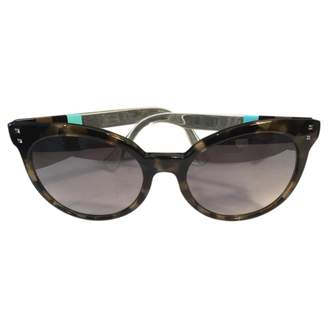 Fendi Multicolour Plastic Sunglasses