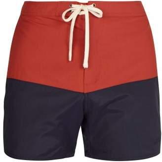 Saturdays NYC Ennis Swim Shorts - Mens - Red Multi