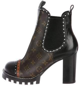 Louis Vuitton Star Trail Monogram Ankle Boots