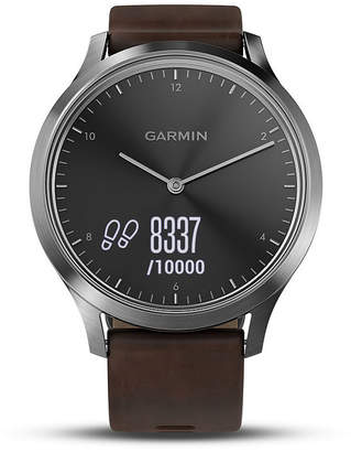 Garmin Vivomove Hr Unisex Brown Smart Watch-0100185014jcp