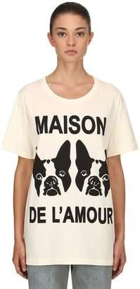 Gucci Maison De L'amour Cotton Jersey T-Shirt