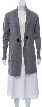 Magaschoni Cashmere Long Sleeve Cardigan