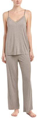 Natori Feathers Essential 2 Pc Tank Pajama Set