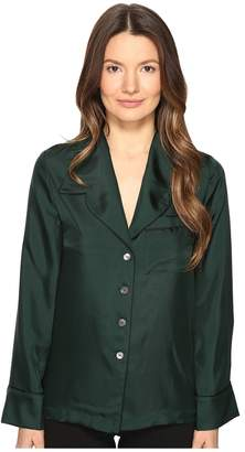 McQ Lounge Shirt Women's Long Sleeve Button Up