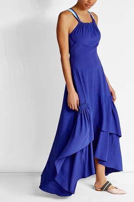 Peter Pilotto Tiered Maxi Dress