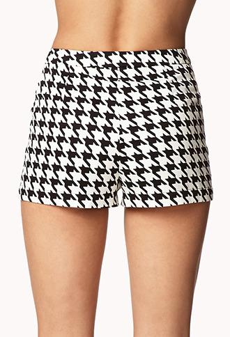 Forever 21 Houndstooth Shorts