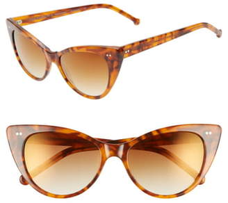 Colors In Optics Audrey 54mm Cat Eye Sunglasses