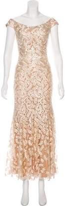 Jovani Sequin Lace Gown