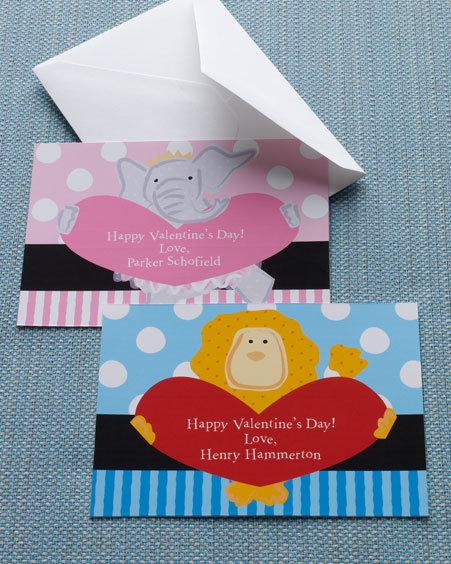 Lion & Elephant Valentines