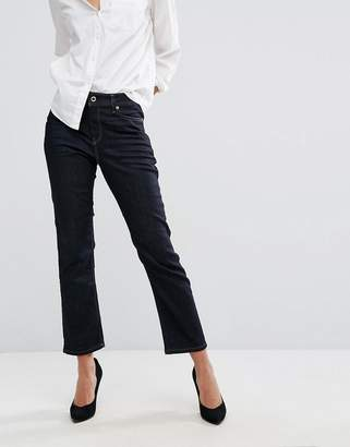 Diesel Reen Mid Rise Straight Mom Jeans