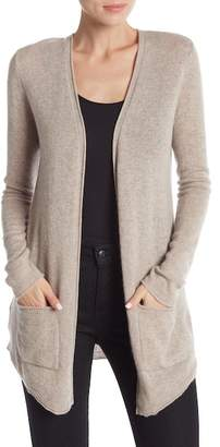 Magaschoni M BY Cashmere Open Front Cardigan