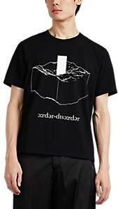 "Undercover Men's ""Order/Disorder"" Monolith Cotton T-Shirt - Black"