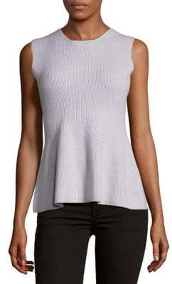 Narciso Rodriguez Felted Sleeveless Top