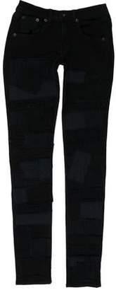 Rag & Bone Patchwork Skinny Jeans