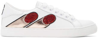Marc Jacobs White Empire Finger Sneakers