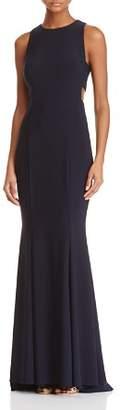 Aqua Cutout Side Gown - 100% Exclusive
