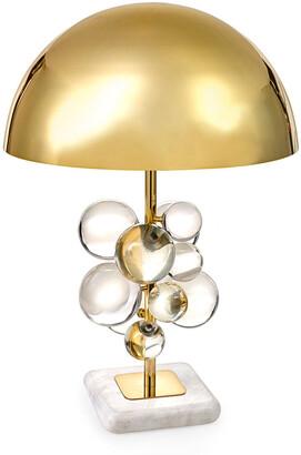 Jonathan Adler Globo Clear Table Lamp