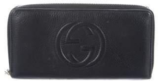 Gucci Soho Zip-Around Wallet Black Soho Zip-Around Wallet