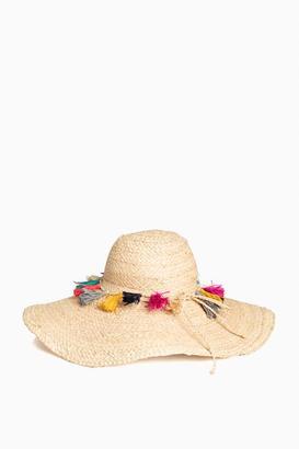 Mar y Sol Paloma Tassel Brim Sun Hat $109 thestylecure.com